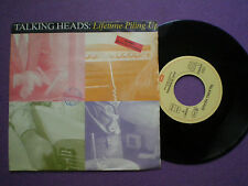 TALKING HEADS Lifetime GERMANY 45 + SPAIN PROM0 STAMP ON BACK 1992 David Byrne