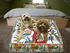 Indian Handmade Square Pillows Cover Boho Floor Decorative Cushion Seat Cover