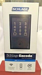 Schlage Encode Smart WiFi Touchscreen Deadbolt Century Trim *NEW/FACORY SEALED