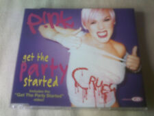PINK - GET THE PARTY STARTED - UK CD SINGLE - P!NK