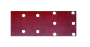 50x Carta abrasiva vetrata con velcro levigatrice MAKITA BO4563 BO4566 grana 60