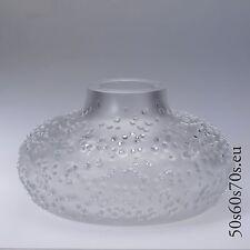 Glas Vase Peill & Putzler Design Horst Tüselmann PATMOS Ø 22cm 3,6 kg 60s  #8