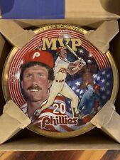 Mike Schmidt Collectors Plate Philadelphia Phillies MLB