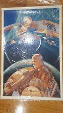 Elysium Variant Screen Print Variant Martin Ansin Signed & Numbered Mondo SDCC