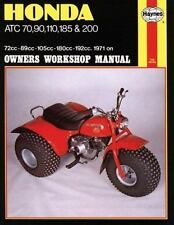 Honda ATC 70, 90, 110, 185 and 200 Owners Workshop Manual, No. M565:-ExLibrary