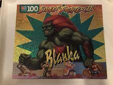 Street Fighter II Blanka Jigsaw Puzzle by Milton-Bradley 1993