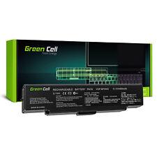 BATTERIA portatile per Sony VAIO pcg-5k1t pcg-5k2l pcg-5k2m pcg-5k2p 4400mah Nero