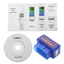 Mini Super ELM327 Bluetooth V1.5 OBD2 OBDII Car Diagnostic Scanner Adapter Tool