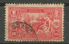 BRASIL Scott # 190  1908 Comercio Internacional