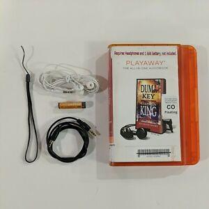 Duma Key By Stephen King Unabridged Audiobook Playaway Headphones Battery Aux