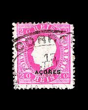 Vintage:Azores-Portugal18 82 Usd Lhr Scott #49 $125 Lot #1882X63