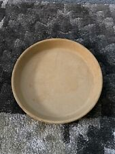 "Pampered Chef Round Cake Pizza Pan Baker Stoneware Baking Pan 10"" Inch, Used"