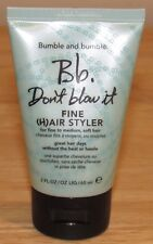 Bumble And Bumble Don't Blow It Fine Medium Hair Air Styler 2 Oz 2.0 Travel Sz