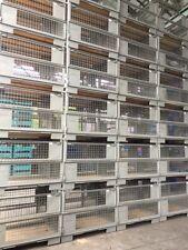 Neu DB Gitterboxen Lagerboxen Industrieboxen  Gitterboxen Bitte lesen Sie Durch!