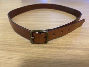 Witchery Tan Leather Belt Size M/L