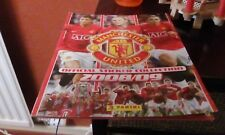 Panini 2008-09 Manchester United Empty Sticker Album