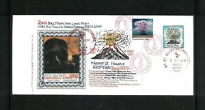Mt.St. Helens Cover With #3878e Doc's Bull Mtn. Local Post. Net 20.00