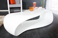 Table basse blanc rétro Table basse Gravity 110CM DESIGN salon Table de salon