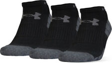 NWT Under Armour Elevated Performance Cushion No Show Socks 3 Pack