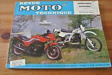 Revue moto Technique Kawasaki Z750 GPZ R1 ET RX  et Husqvarna 125_240 WR  N° 49
