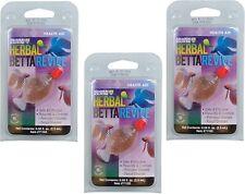 Hikari Betta Herbes Revive Médicament Aquarium Slutions USA - 3 Paquet