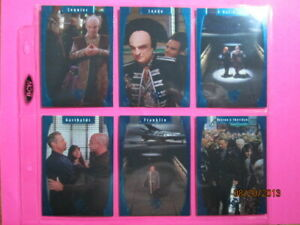 1998 BABYLON 5 SEASON FIVE - ONE EXIT AT A TIME CARDS - PICK ONE