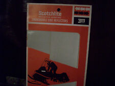 1970's 3M Scothlite Snowmobile Side Reflecting Tape Strips