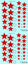 KV Decals 1/72 SOVIET EARLY RED STARS TYPE 2 Russian National Markings