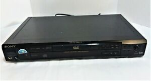 Sony CD/DVD Player DVP-S560D Dolby Digital 5.1 Output with Remote and AV Cable