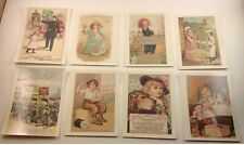 Reproduction Antique Trade Cards - TOTC & Children Advertising cards  YOU CHOOSE