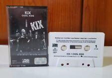 Kix - Cool Kids (cassette) 1983 Atlantic Recording corporation Complete