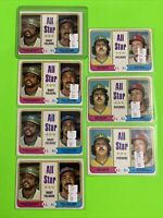 🔥1974 Topps Baseball Card Set ALL-STAR LOT X7 OAKLAND A's REGGIE JACKSON HUNTER