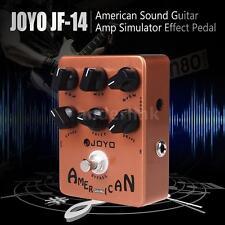 JOYO JF-14 American Sound Guitar Amp Simulator Effect Pedal High Quality G6U9