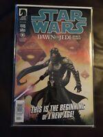 Star Wars Dawn of the Jedi Force Storm #1  Newsstand Variant NM Dark Horse Rare