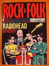 Rock & Folk N° 407 du 07/2001- Radiohead et maintenant, qui ? Thom yorke parle !