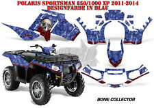 AMR RACING DEKOR GRAPHIC KIT ATV POLARIS SPORTSMAN MODELLE BONE COLLECTOR B