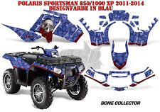 AMR Racing DECORO GRAPHIC KIT ATV POLARIS SPORTSMAN modelli Bone Collector B