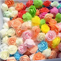 20pcs 3.5cm PE Foam Rose Flower Head Artificial DIY For Wedding Home Deco