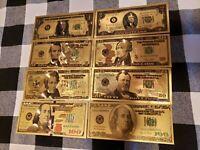 25 Stevie Ray Vaughan MONEY NOVELTY FAKE WHOLESALE LOT  MILLION DOLLAR BILLS