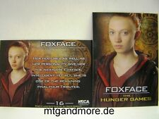 The Hunger Games Movie Trading Card - 1x #016 Foxface