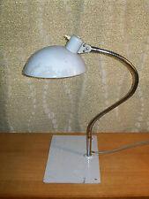 ANCIEN LAMPE ATELIER DESIGN JUMO KAISER 50 60 INDUSTRIEL METAL ARTICULé