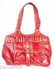 NEW RED MARC ECKO RED TRIPLE CROWN CLOSER TOTE,SATCHEL,HAND BAG