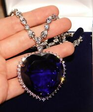 Magnificent, Heart of the Ocean Rose's Titanic Replica Crystal Necklace with Box