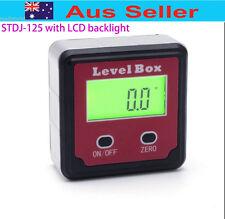 Digital Angle Gauge Meter Protractor Bevel Box Inclinometer 360°/4X90° STDJ125