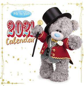 Me To You Tatty Teddy Bear Photo Finish Home Office Large Sq Wall Calendar 2021