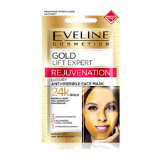 EVELINE 3IN1 SMOOTHES WRINKLES REJUVENATING FACIAL MASK 24K GOLD - 7 ml