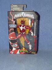 Power Rangers Legacy 16.5cm Figure - Metallic Red Ranger NEW