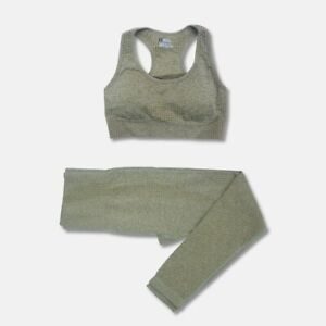 Seamless Women Yoga Set Workout Sportswear Gym Clothing Fitness
