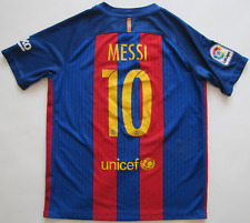 FC Barcelona #10 Leo Messi 2016/17 Nike shirt jersey camiseta boys 158-170cm XL