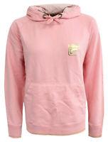 "Mens FILA light pink hooded sweatshirt hoodie LARGE Pit to pit 21.5"""